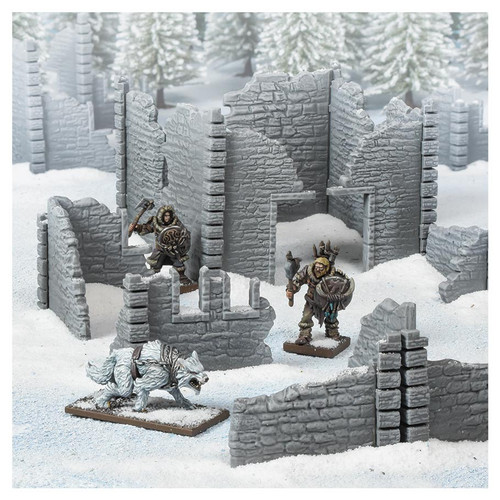 RPG Miniatures: Environment and Scenery - Terrain Crate: Ruined Village