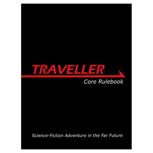 Miscellanous RPGs: Traveller: Core Rulebook [MGP 3800]