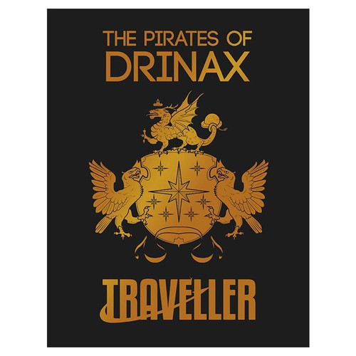Miscellanous RPGs: Traveller: The Pirates of Drinax