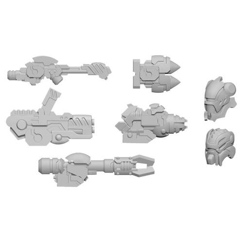 Warcaster: Neo-Mechanika: Aeternus Continuum - Scourge A Weapon Pack (Aeternus Continuum)