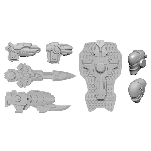 Warcaster: Neo-Mechanika: Iron Star Alliance - Firebrand A Weapon Pack (Iron Star Alliance)