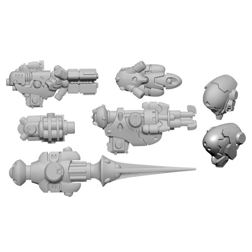 Warcaster: Neo-Mechanika: Iron Star Alliance - Firebrand B Weapon Pack (Iron Star Alliance)