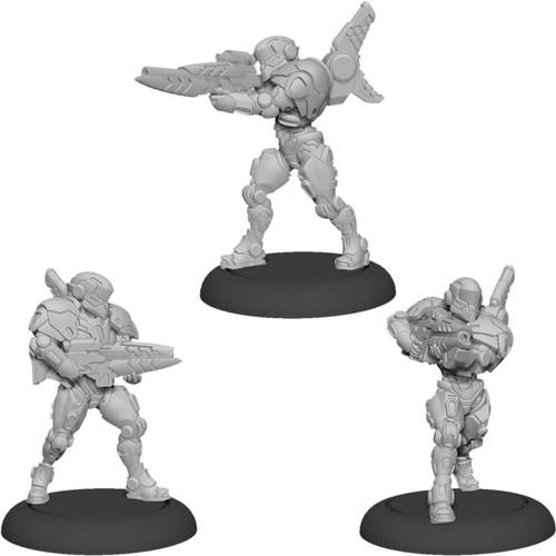 Warcaster: Neo-Mechanika: Iron Star Alliance - Paladin Enforcers Squad (Iron Star Alliance)