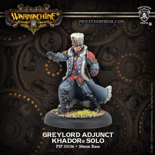 Warmachine: Khador - Greylord Adjunct