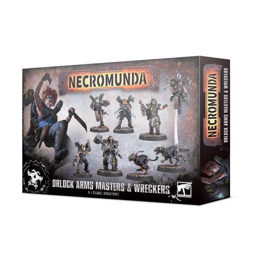 (Preorder) Warhammer 40K: Necromunda - Orlock Arms Masters And Wreckers