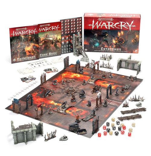 (Preorder) Warhammer: Age of Sigmar: Warcry - Warcry: Catacombs