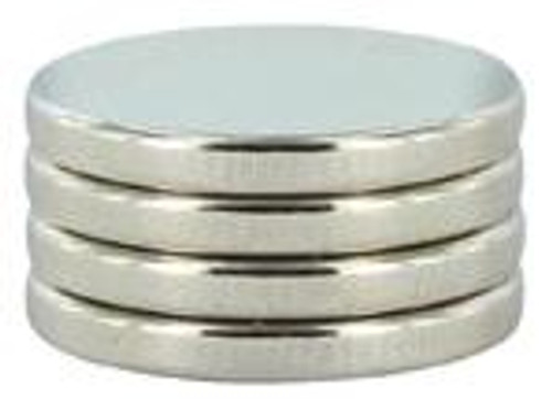 Magnets 1/2 X 1/16 (4)