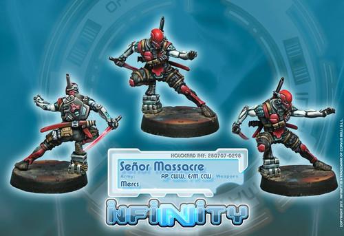 Infinity: Mercenaries - Senor Massacre - AP CCW  E/M CCW