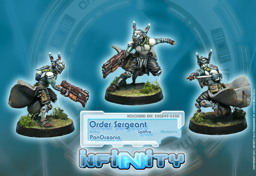 Infinity: PanOceania - Order Sergeants - Spitfire