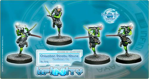 Infinity: Yu Jing - Oniwaban Shinobu Kitsune - Monofilament CCW