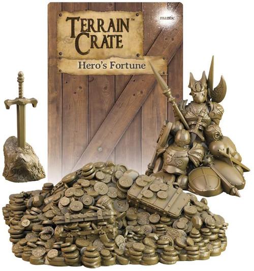 RPG Miniatures: Environment and Scenery - Terrain Crate: Hero's Fortune