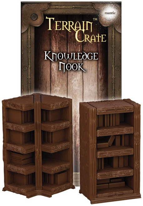 RPG Miniatures: Environment and Scenery - Terrain Crate: Knowledge Nook