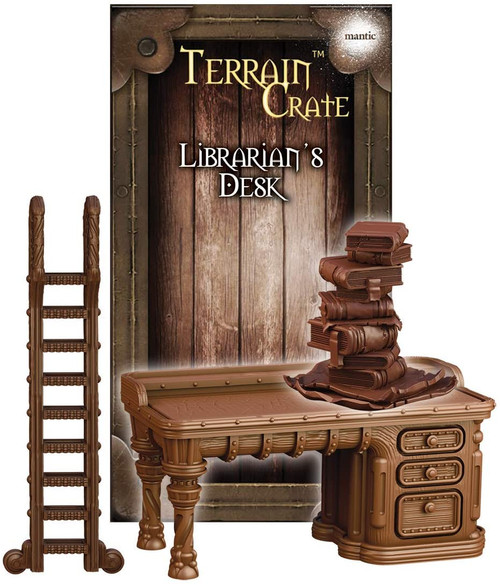 RPG Miniatures: Environment and Scenery - Terrain Crate: Librarian's Desk
