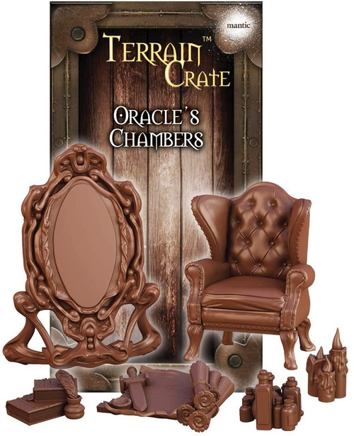 RPG Miniatures: Environment and Scenery - Terrain Crate: Oracle's Chambers