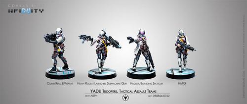 Infinity: ALEPH - Yadu Troops