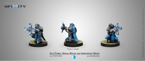 Infinity: PanOceania - Zulu-Cobra, Special Recon and Intervention Group (Jammer)