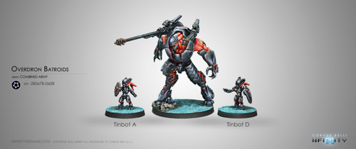 Infinity: Combined Army - Overdron Batroids