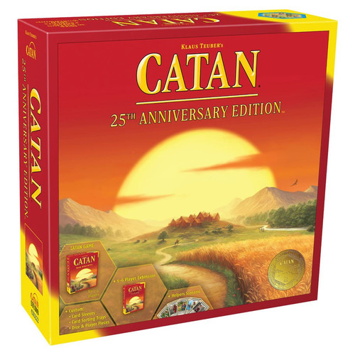 Board Games: Catan - Catan: 25th Anniversary Edition