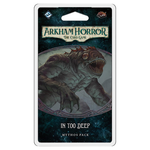 (Preorder) Card Games: Arkham Horror - In Too Deep Mythos Pack
