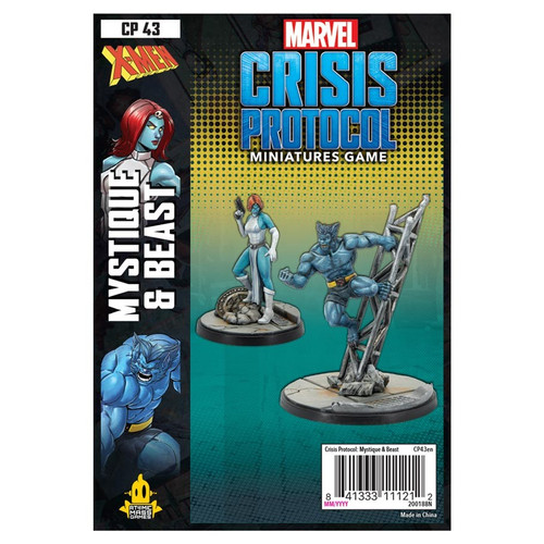 Marvel: Crisis Protocol: Beast and Mystique Pack