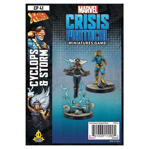 Marvel: Crisis Protocol: Storm and Cyclops Pack