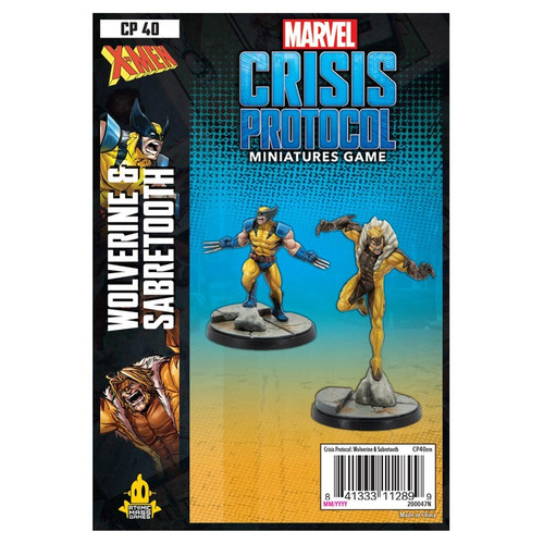 Marvel: Crisis Protocol: Wolverine and Sabertooth Pack