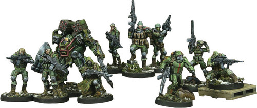 Infinity: Ariadna - Tartary Army Corps Action Pack