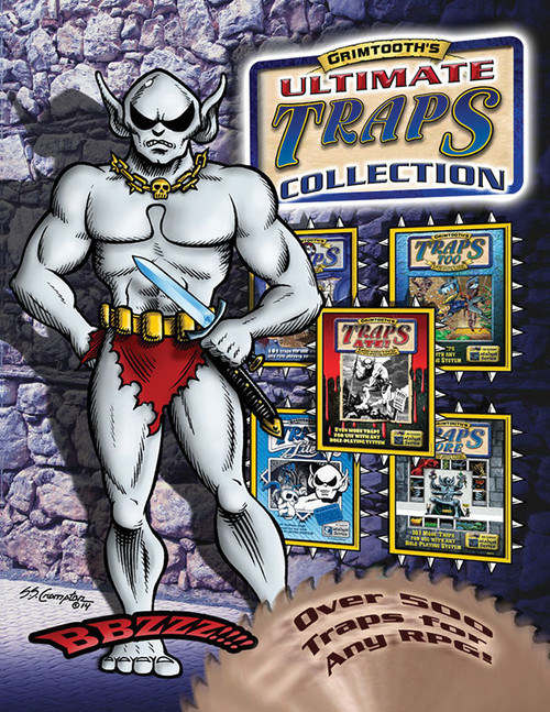 Dungeon Crawl Classics/GG: Grimtooth's Ultimate Traps Collection