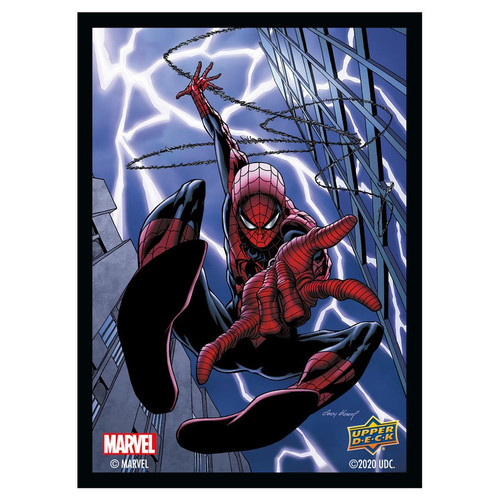 Marvel Card Sleeves: Spider-Man - Standard 66mm x 91mm (65)