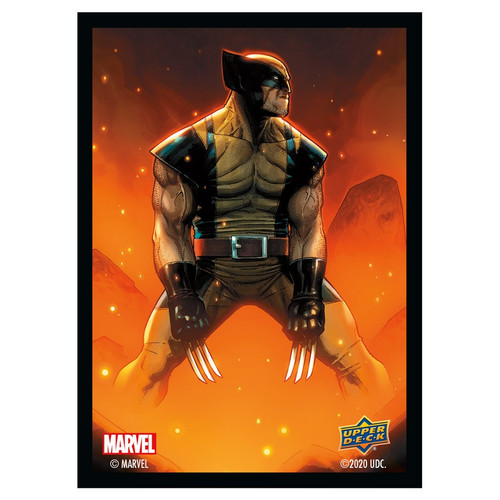Marvel Card Sleeves: Wolverine - Standard 66mm x 91mm (65)