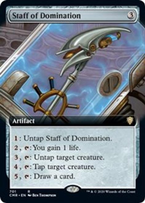 Staff of Domination (Extended Art) - Commander Legends