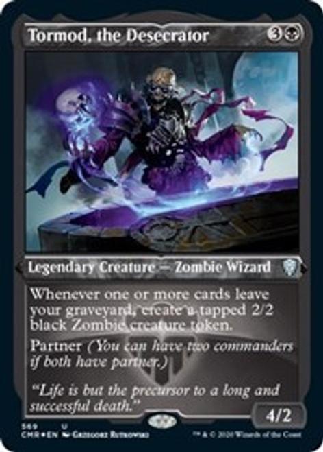 Tormod, the Desecrator (Foil Etched) [Foil] - Commander Legends