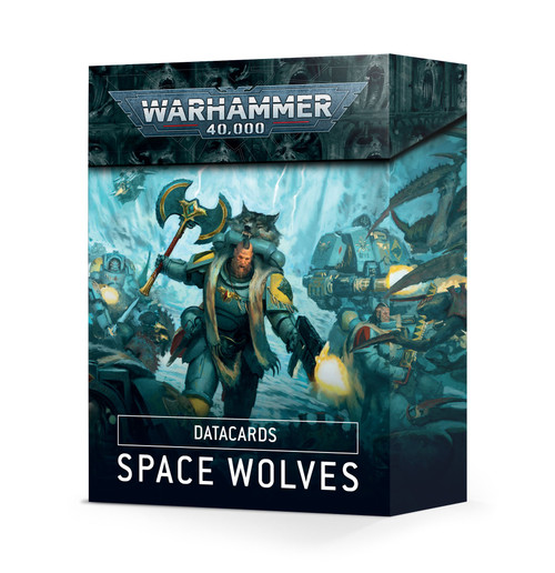 Warhammer 40K: Space Wolves - Datacards: Space Wolves (9ed.)