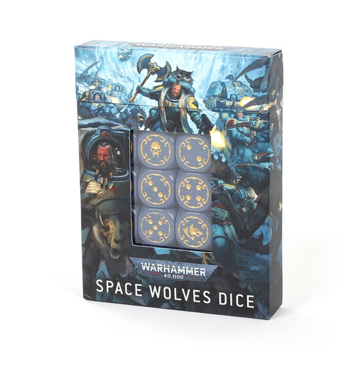 Warhammer 40K: Space Wolves - Space Wolves Dice Set