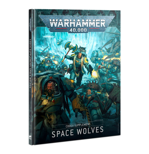Warhammer 40K: Space Wolves - Codex: Space Wolves Supplement (9ed.)