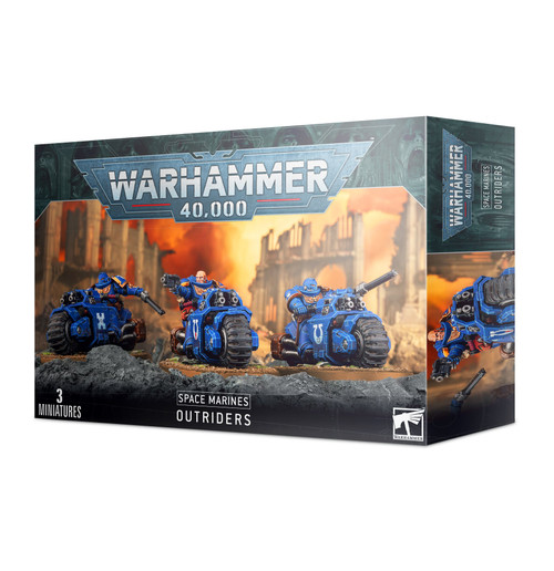 Warhammer 40K: Space Marines - Primaris Outriders