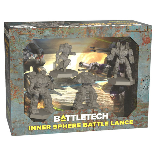 Battletech: Inner Sphere Battle Lance Force Pack