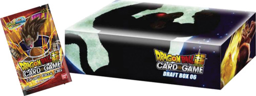 DragonBall Super: Premade Decks/Special Items - Dragon Ball Super Draft Box Set 6 - Giant Force