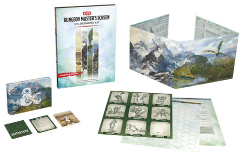 Dungeons & Dragons: DM Support - Dungeon Masters Screen Wilderness Kit