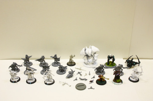 Warmachine Retribution Lot - Garryth 1, Hydra, Moros, Sylys, Stormfall Archers [U-B2S2 272211]