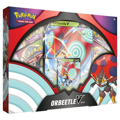 Pokemon TCG: Trainer Boxes and Special Items - Orbeetle V Box