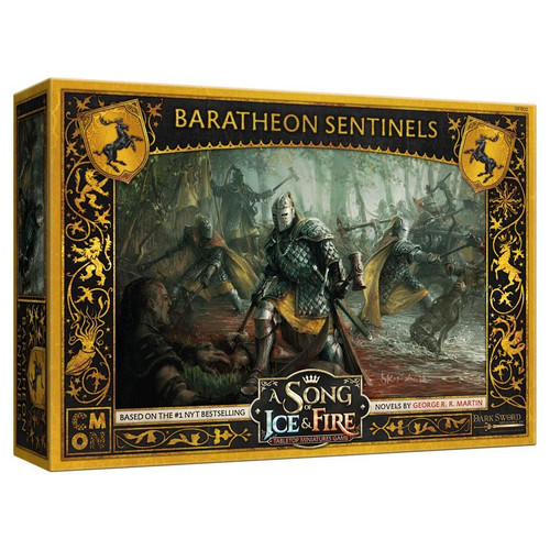 A Song of Ice & Fire Tabletop Miniatures Game: House Baratheon - Sentinels