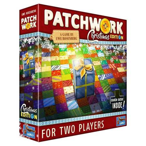 Board Games: Patchwork: Christmas Edition