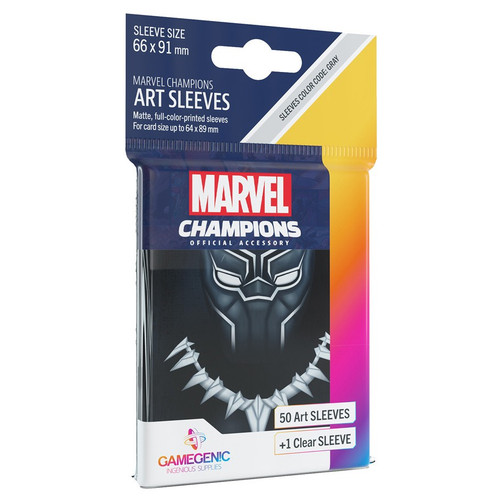 Card Games: Marvel Champions - Black Panther Art Sleeves (51)