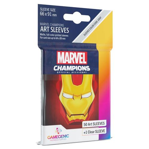 Card Games: Marvel Champions - Iron Man Art Sleeves (51)