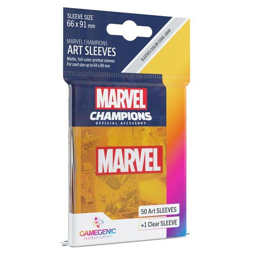 Card Games: Marvel Champions - Marvel Orange Art Sleeves (51)