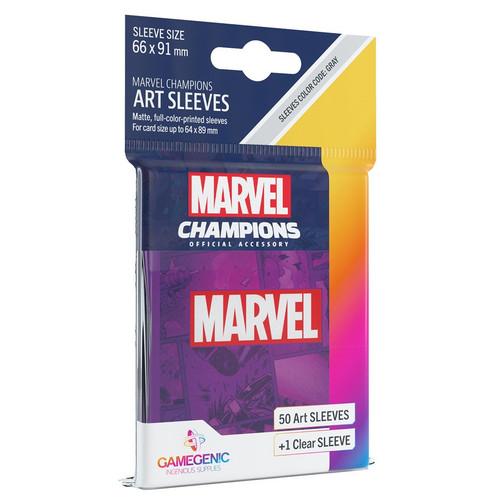 Card Games: Marvel Champions - Marvel Purple Art Sleeves (51)