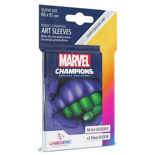 Card Games: Marvel Champions - She-Hulk Art Sleeves (51)