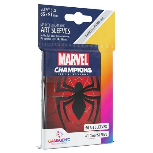 Card Games: Marvel Champions - Spider-Man Art Sleeves (51)