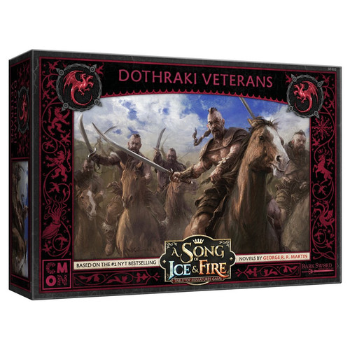 A Song of Ice & Fire Tabletop Miniatures Game: House Targaryen - Targaryen Dothraki Veterans